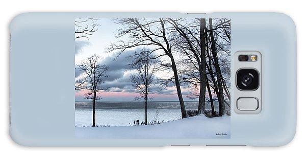 Lake Erie Sunrise Galaxy Case