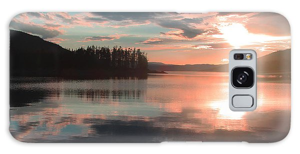 Lake Granby Sunset Galaxy Case