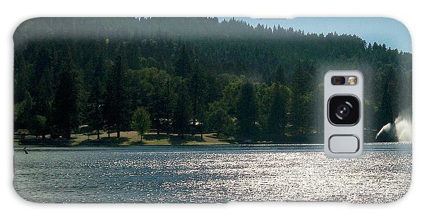 Scenic Lake Photography In Crestline California At Lake Gregory Galaxy Case
