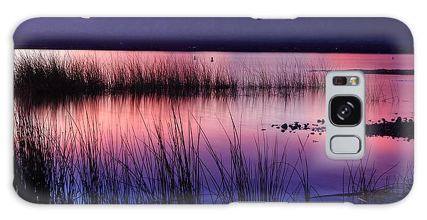 Lake Havasu Sunset Galaxy Case