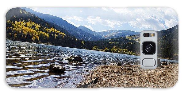 Lake In Colorado Rockies Galaxy Case