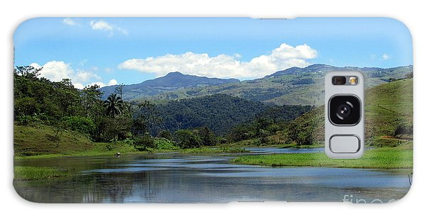 Lake In Costa Rica Galaxy Case by Irina Hays