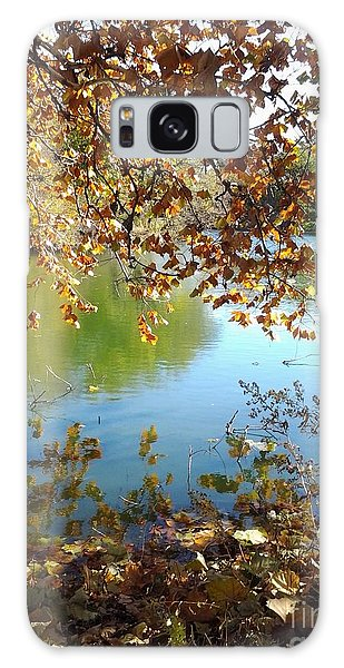 Lake In Early Fall Galaxy Case by Susan Townsend
