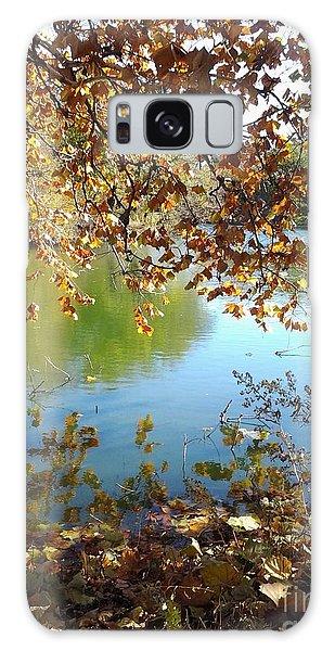 Lake In Early Fall Galaxy Case