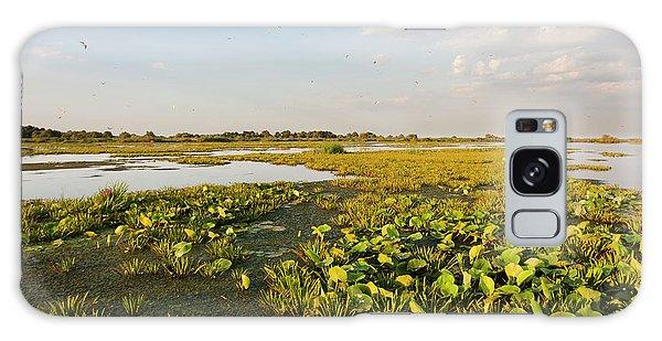 Sea Lily Galaxy Case - Lake In The Danube Delta, Romania by Martin Zwick