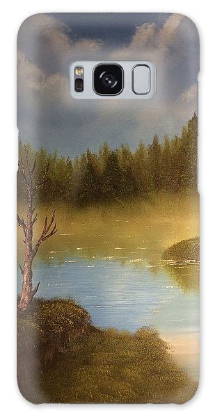 Lake In The Woods  Galaxy Case