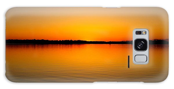 Lake Independence Sunset Galaxy Case