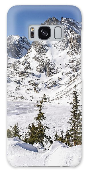Indian Peaks Wilderness Galaxy Case - Lake Isabelle Vertical by Aaron Spong