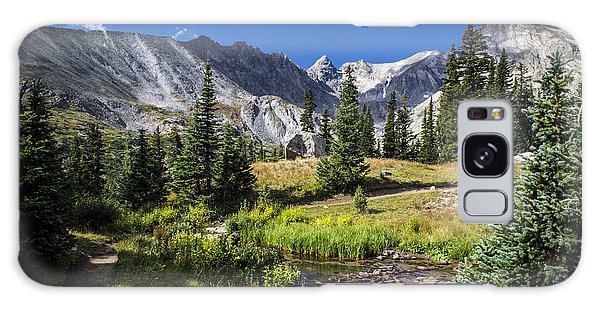 Lake Isbelle Mountains Galaxy Case by Michael J Bauer