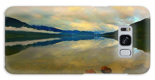Lake Kaniere New Zealand Galaxy Case
