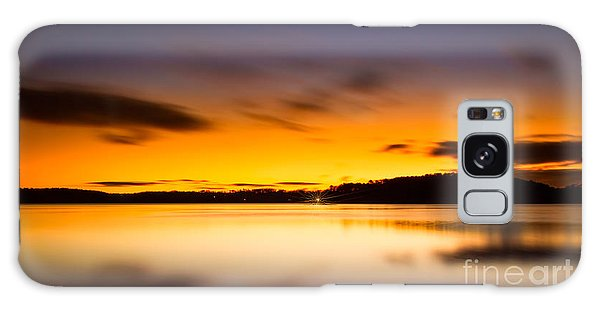 Lake Lanier Sunrise Galaxy Case
