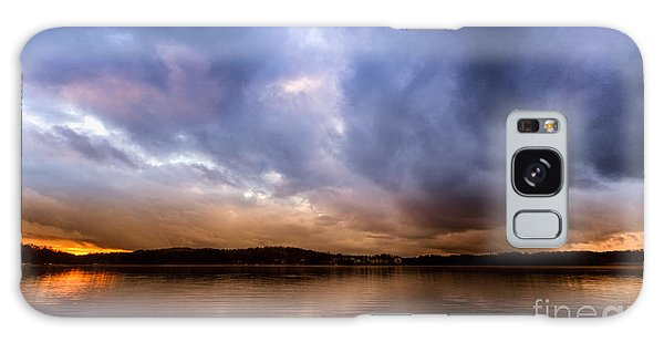 Lake Lanier Sunset Galaxy Case