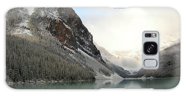Lake Louise After The Dusting Of Snow Galaxy Case