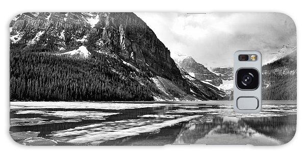 Lake Louise - Black And White #3 Galaxy Case