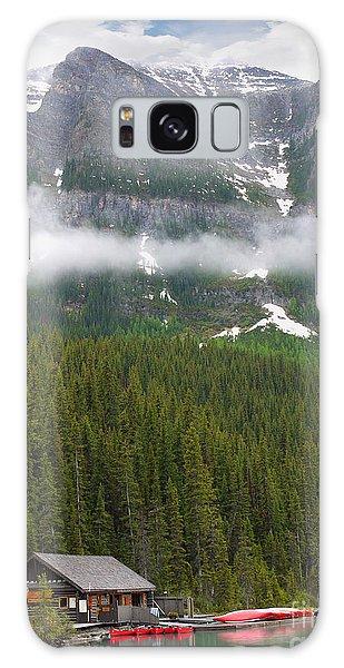 Lake Louise Cabin Galaxy Case
