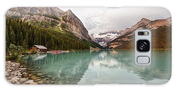 Lake Louise Canoe Rental Galaxy Case