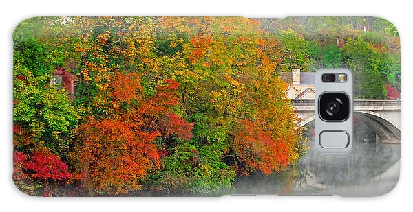 Lake Lure Autumn Galaxy Case by Marion Johnson