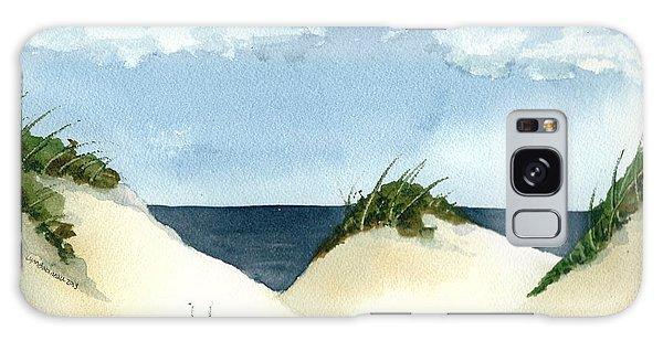 Lake Michigan Dunes Galaxy Case by Lynn Babineau