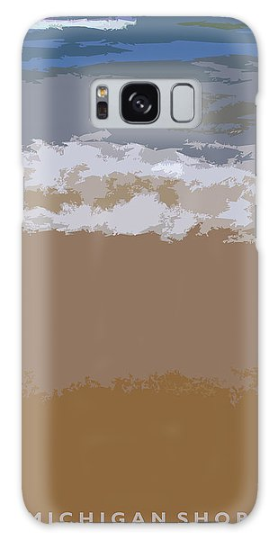 Lake Michigan Shoreline Galaxy S8 Case