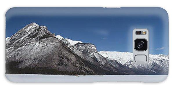 Lake Minnewanka Panorama Galaxy Case