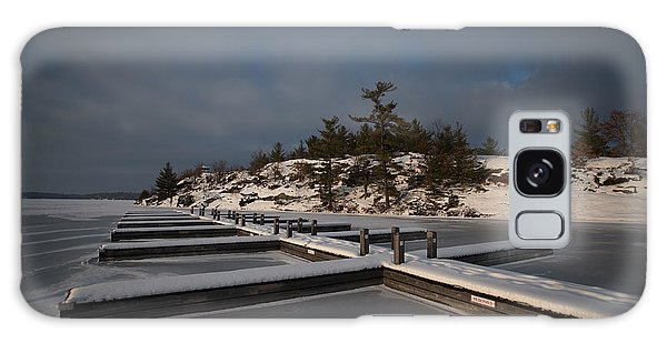 Galaxy Case featuring the photograph Lake Muskoka by David Barker