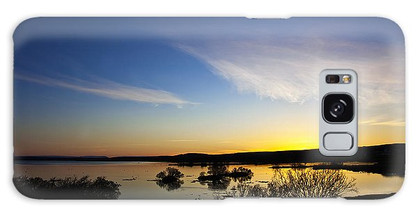 Lake Myvatn Galaxy Case