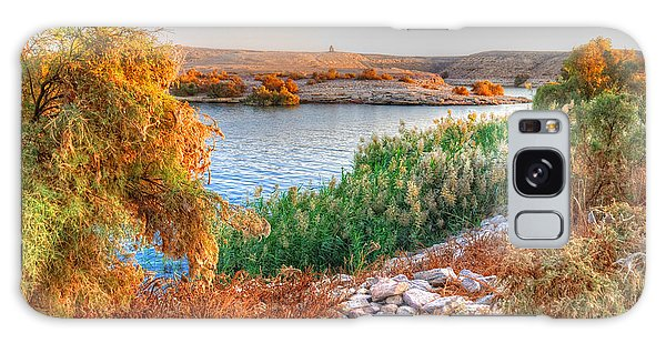 Lake Nasser Sunset Galaxy Case
