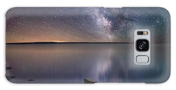Lake Oahe Galaxy Case by Aaron J Groen