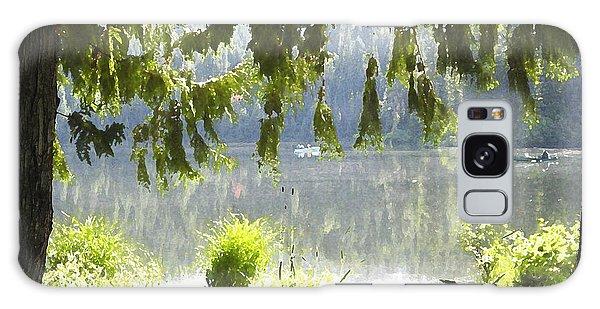 Lake Of Dreams Galaxy Case by Anne Mott