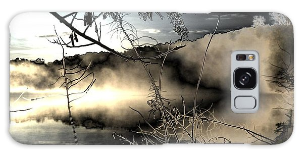 Lake Of The Shadowed Mist Galaxy Case by James Potts