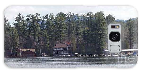 Lake Placid Summer House Galaxy Case by John Telfer