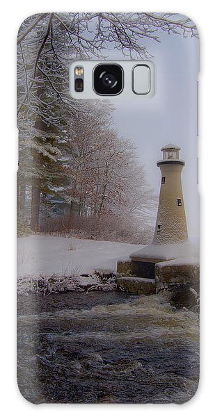 Lake Potanipo Lighthouse Galaxy Case