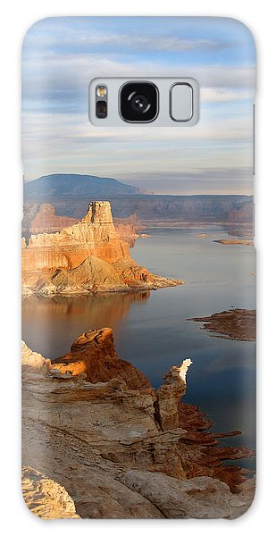 Lake Powell From Alstrum Pt 12 Galaxy Case