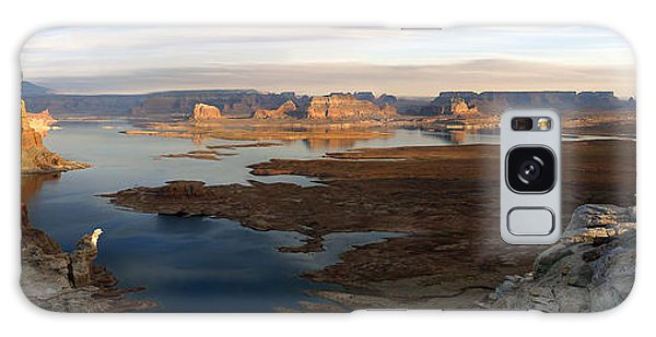 Lake Powell From Alstrum Pt Pan 2 Galaxy Case