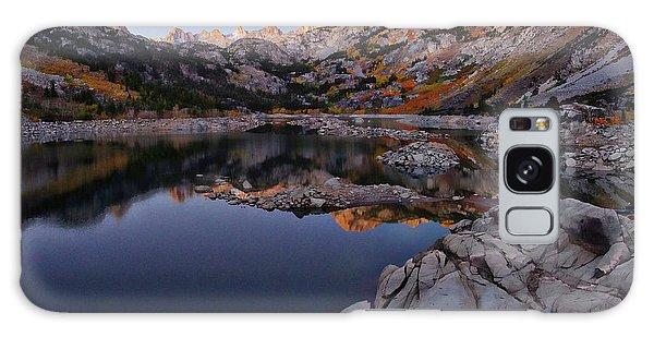 Lake Sabrina Fall Colors At Sunrise Galaxy Case