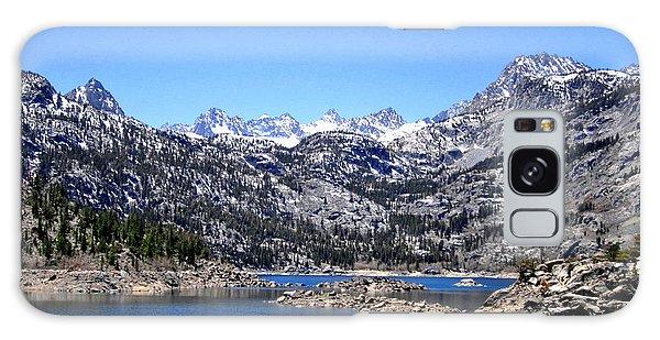 Lake Sabrina Galaxy Case by Marilyn Diaz