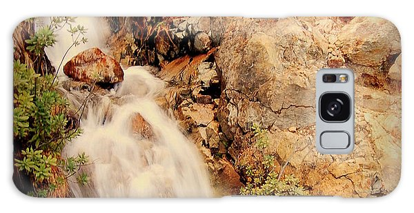 Lake Shasta Waterfall 2 Galaxy Case