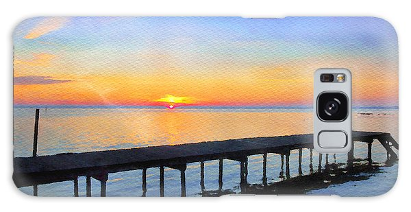 Lake Sunrise - Watercolor Galaxy Case