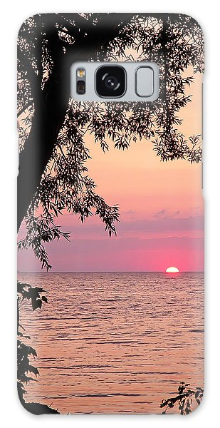 Lake Sunset Galaxy Case by Aimee L Maher Photography and Art Visit ALMGallerydotcom