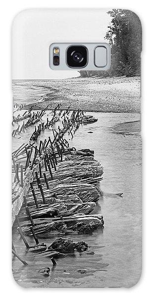 Lake Superior Shipwreck Galaxy Case