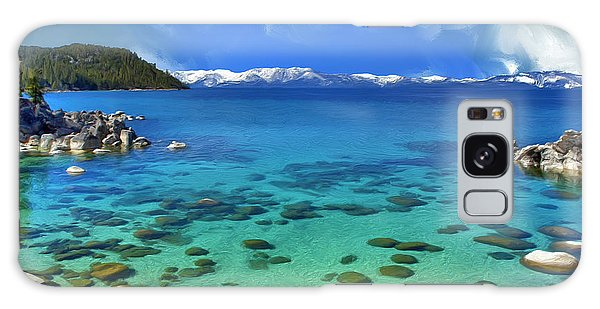 Lake Tahoe Cove Galaxy Case