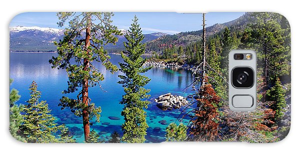 Lake Tahoe Eastern Shore Galaxy Case