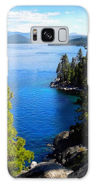 Lake Tahoe From The Rubicon Trail Galaxy Case