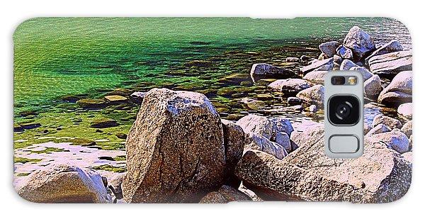 Lake Tahoe Green Galaxy Case
