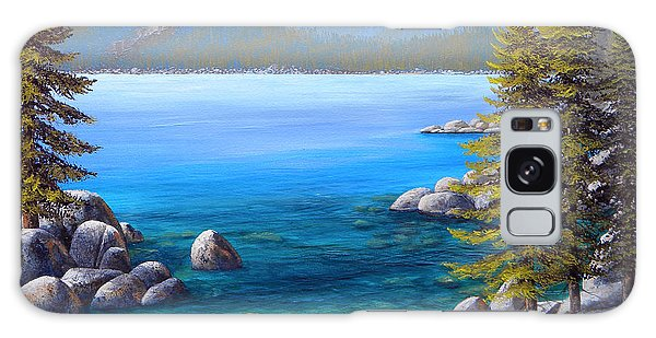 Lake Tahoe Inlet Galaxy Case by Frank Wilson