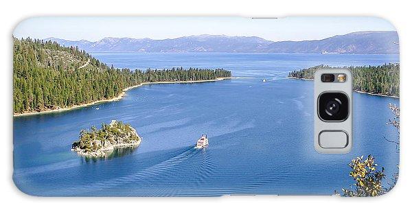 Lake Tahoe Paddle Boat Galaxy Case