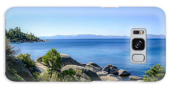 Lake Tahoe Shore Galaxy Case