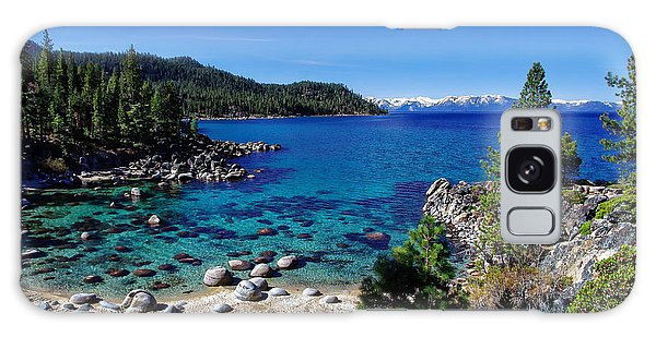 Lake Tahoe Springscape Galaxy Case