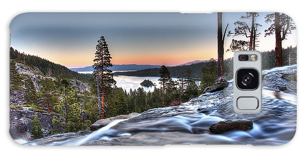 Lake Tahoe Sunset At Eagle Falls Galaxy Case