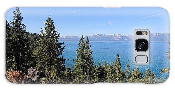 Lake Tahoe Through The Trees Galaxy Case